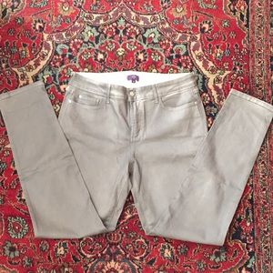 NYDJ Alina gray leggings